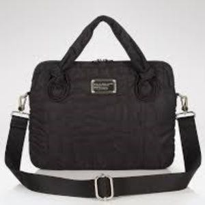 Black Quilted Marc by Marc Jacobs Laptop Carrier
